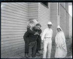 Students in costume, Pomona College