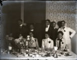 Sumner dining room group, Pomona College