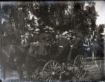 Pomona College class of 1904 picnic group