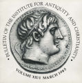 Bulletin of the Institute for Antiquity and Christianity, Volume XII, Issue 1