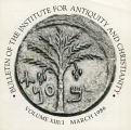 Bulletin of the Institute for Antiquity and Christianity, Volume XIII, Issue 1