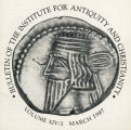 Bulletin of the Institute for Antiquity and Christianity, Volume XIV, Issue 1
