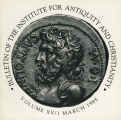 Bulletin of the Institute for Antiquity and Christianity, Volume XV, Issue 1