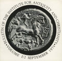 Bulletin of the Institute for Antiquity and Christianity, Volume I, Issue 2