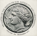 Bulletin of the Institute for Antiquity and Christianity, Volume II, Issue 4