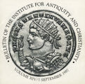 Bulletin of the Institute for Antiquity and Christianity, Volume XIV, Issue 3