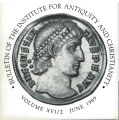 Bulletin of the Institute for Antiquity and Christianity, Volume XVI, Issue 2