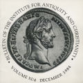 Bulletin of the Institute for Antiquity and Christianity, Volume XI, Issue 4