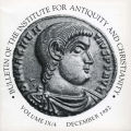 Bulletin of the Institute for Antiquity and Christianity, Volume IX, Issue 4