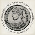 Bulletin of the Institute for Antiquity and Christianity, Volume XX, Issue 4