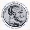 Bulletin of the Institute for Antiquity and Christianity, Volume XXI, Issue 4