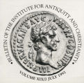 Bulletin of the Institute for Antiquity and Christianity, Volume XIX, Issue 2
