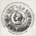 Bulletin of the Institute for Antiquity and Christianity, Volume XX, Issue 2