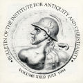 Bulletin of the Institute for Antiquity and Christianity, Volume XXI, Issue 2