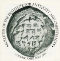 Bulletin of the Institute for Antiquity and Christianity, Volume XXII, Issue 2
