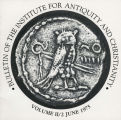 Bulletin of the Institute for Antiquity and Christianity, Volume II, Issue 2