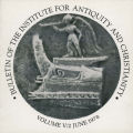 Bulletin of the Institute for Antiquity and Christianity, Volume V, Issue 2