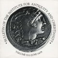 Bulletin of the Institute for Antiquity and Christianity, Volume VI, Issue 2
