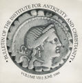 Bulletin of the Institute for Antiquity and Christianity, Volume VII, Issue 2