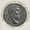 Bulletin of the Institute for Antiquity and Christianity, Volume VIII, Issue 2