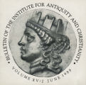 Bulletin of the Institute for Antiquity and Christianity, Volume XV, Issue 2
