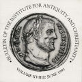 Bulletin of the Institute for Antiquity and Christianity, Volume XVIII, Issue 2