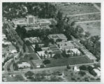 Aerial view of Harvey Mudd College