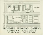 Women's Campus block plan, Pomona College