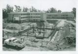 Sprague Library Construction, Harvey Mudd College