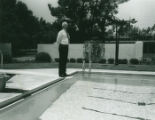 Bell Pool dedication, Harvey Mudd College