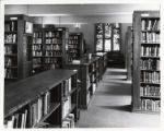Denison Library interior, Scripps College