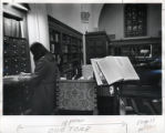 Card catologue in Denison Library, Scripps College