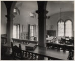 Holbein Room interior of Denison Library, Scripps College