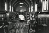 Main Reading Room of Denison Library, Scripps College