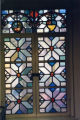 Stained Glass at Denison Library, Scripps College