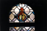 Stained glass window, Scripps College