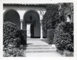 Entrance to Manana Court, Scripps College