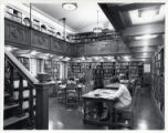 Students studying in Denison Library, Scripps College