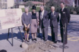 Harper East groundbreaking, Claremont Graduate University