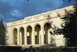 Bridges Auditorium postcard, Claremont University Consortium
