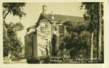 Bridges Hall of Music postcard, Pomona College