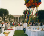 Reception on Mudd Quadrangle
