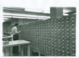 Using the card catalog