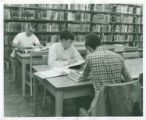 Studying in Honnold Library