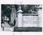Pomona College gates