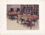 Furniture in Seeley W. Mudd Library