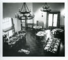 Dining room in Grace Scripps Clark Hall, Scripps College