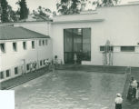 Memorial Gym swimming pool, Pomona College