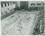 Swimming at Memorial Gym, Pomona College