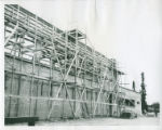 Construction of Memorial Gym, Pomona College